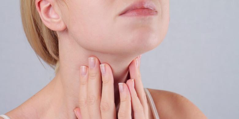 اعراض امراض الغدة الدرقية