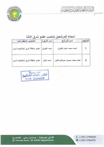 انتخابات نقابة الصيادلة (7)