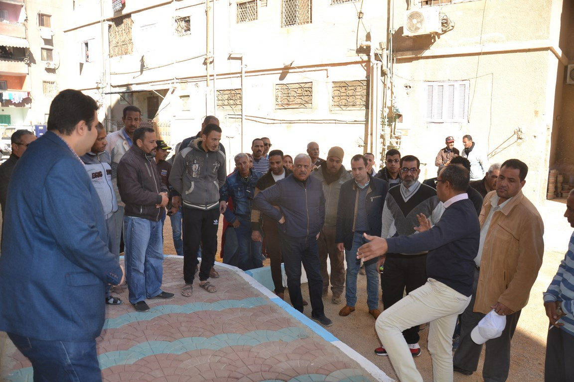 استكمال تطوير مدينة تعاونيات القاهرة بمحافظة السويس (2)