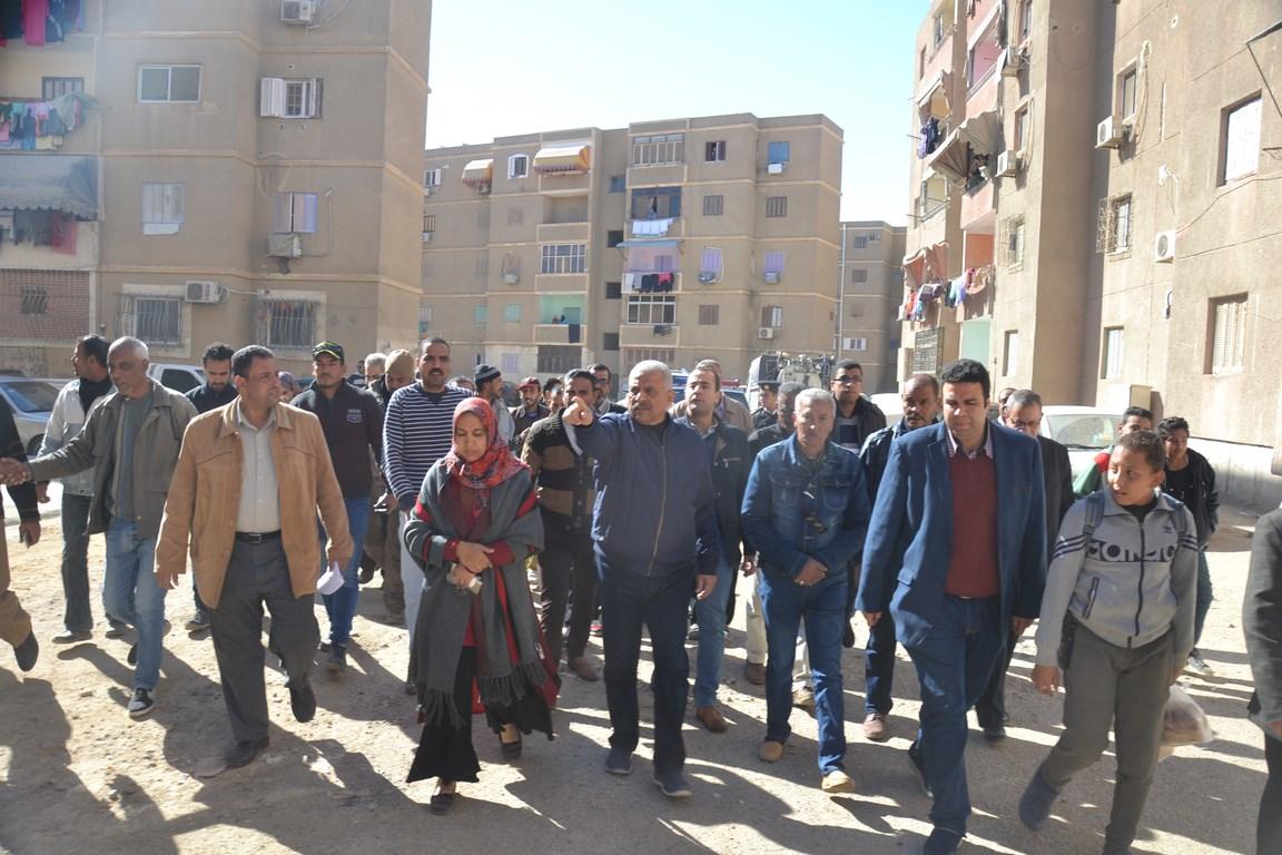 استكمال تطوير مدينة تعاونيات القاهرة بمحافظة السويس (7)
