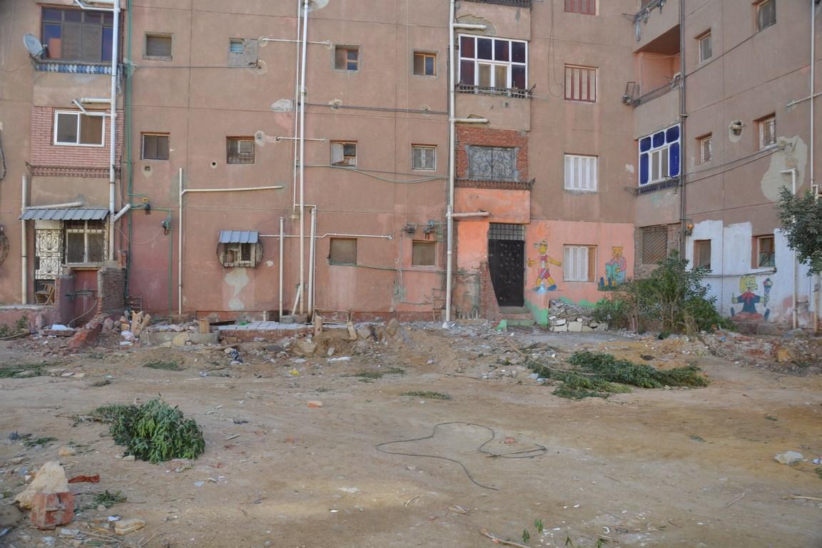 استكمال تطوير مدينة تعاونيات القاهرة بمحافظة السويس (9)