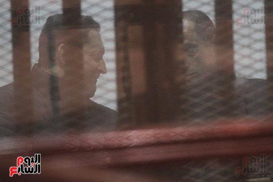 جمال وعلاء مبارك بقضية التلاعب بالبورصة (17)