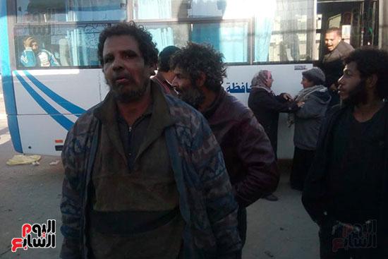 التضامن تنسق مع محافظة بورسعيد  ومديرية الامن لانقاذ المشردين وكبار السن (5)