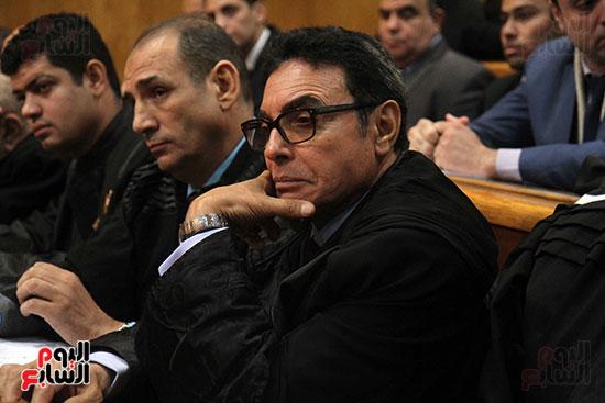 جمال وعلاء مبارك بقضية التلاعب بالبورصة (14)