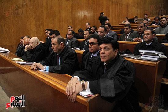 جمال وعلاء مبارك بقضية التلاعب بالبورصة (11)
