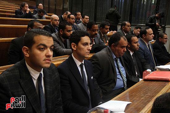 جمال وعلاء مبارك بقضية التلاعب بالبورصة (1)