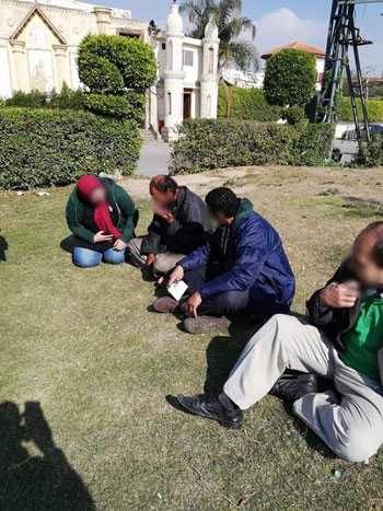 فريق من الوزارة مع المشردين (3)
