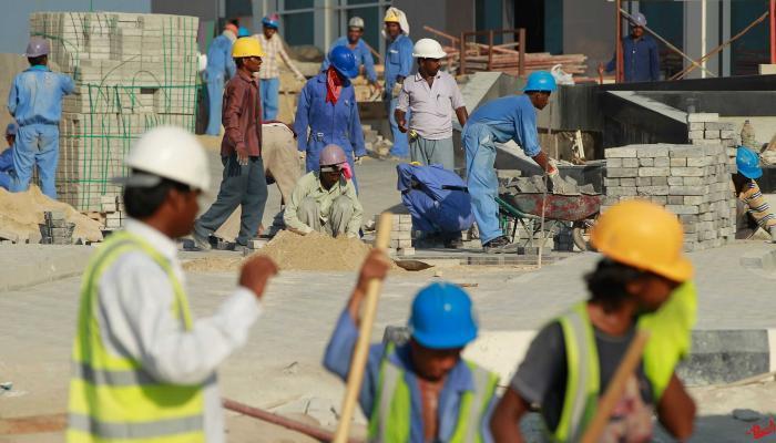 العمالة فى قطر عانت من انتهاكات كبيرة