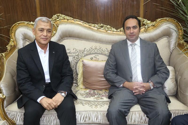 محافظ المنوفية يستقبل نائب وزير التربية والتعليم (2)