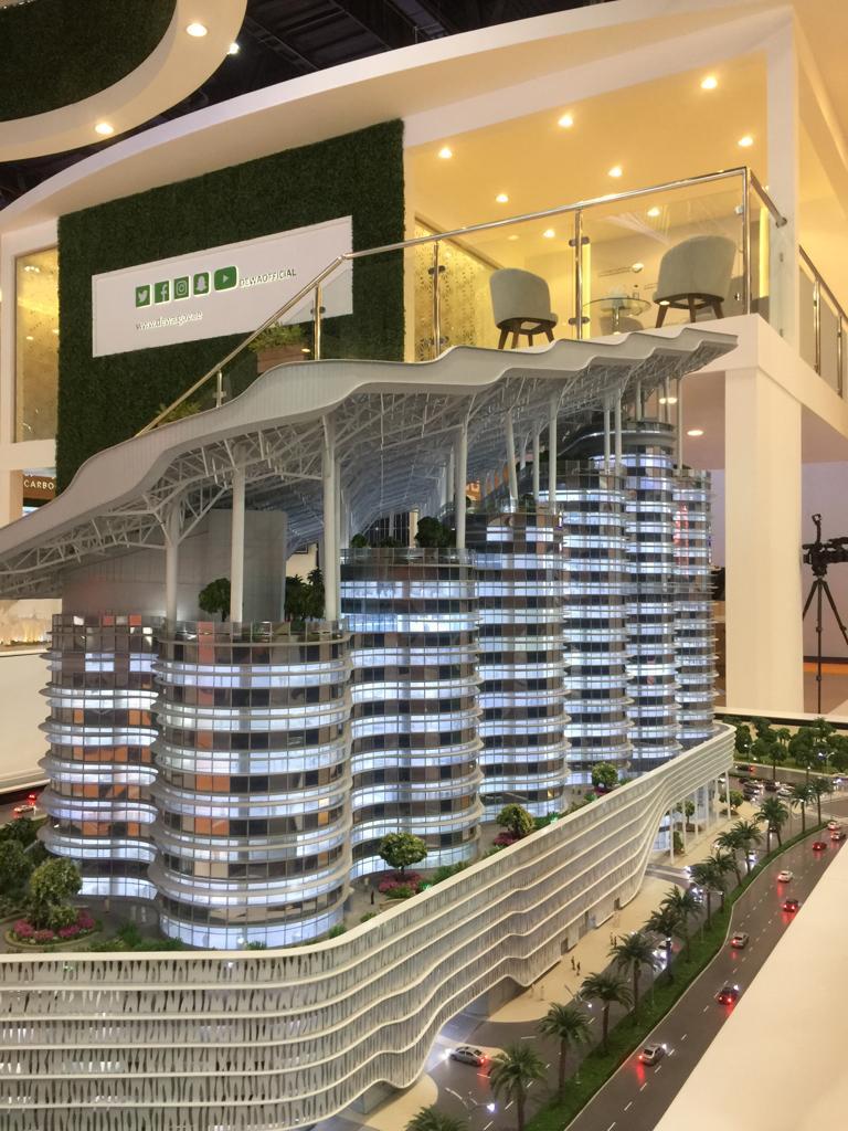 وزارة البيئة - تحت الإنشاء في أبو ظبي باستخدام الطاقة المتجددة