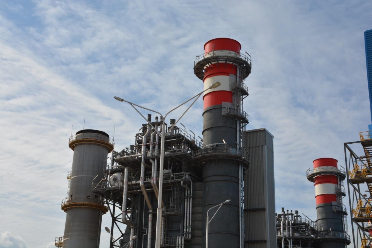 محافظ دمياط تفتتح المبنى الإدارى بمحطة توليد كهرباء غرب دمياط وتتفقد مكونات المشروع (3)