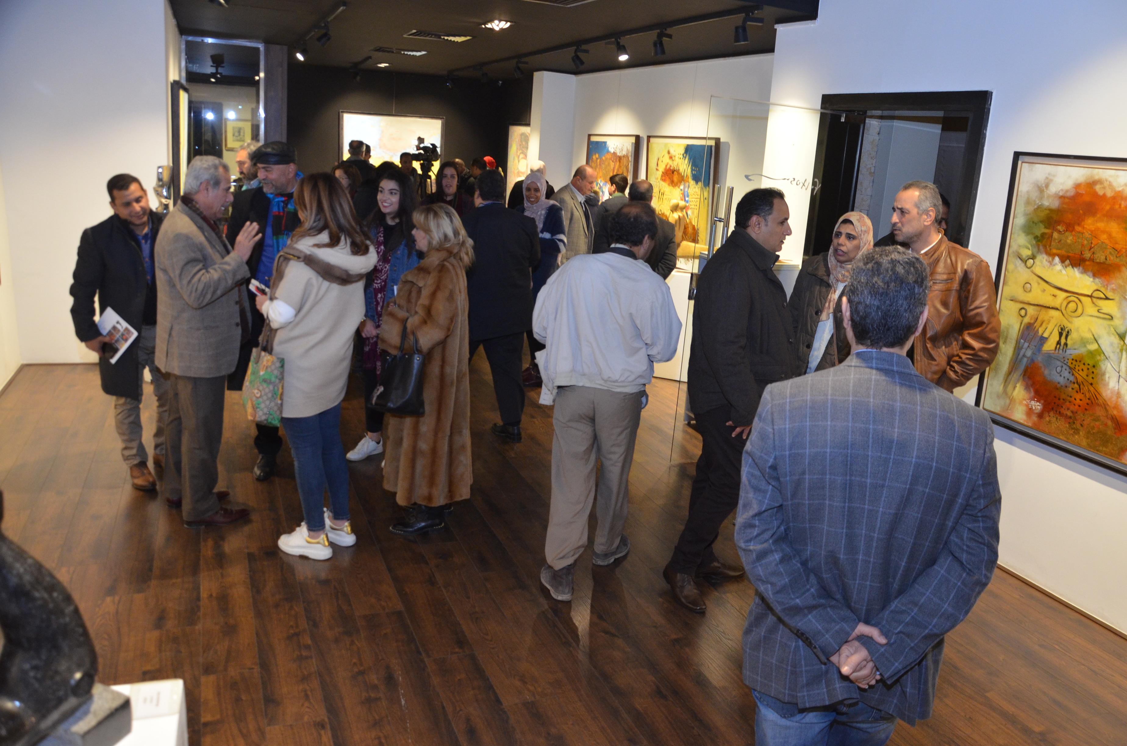 افتتاح المعرض (9)