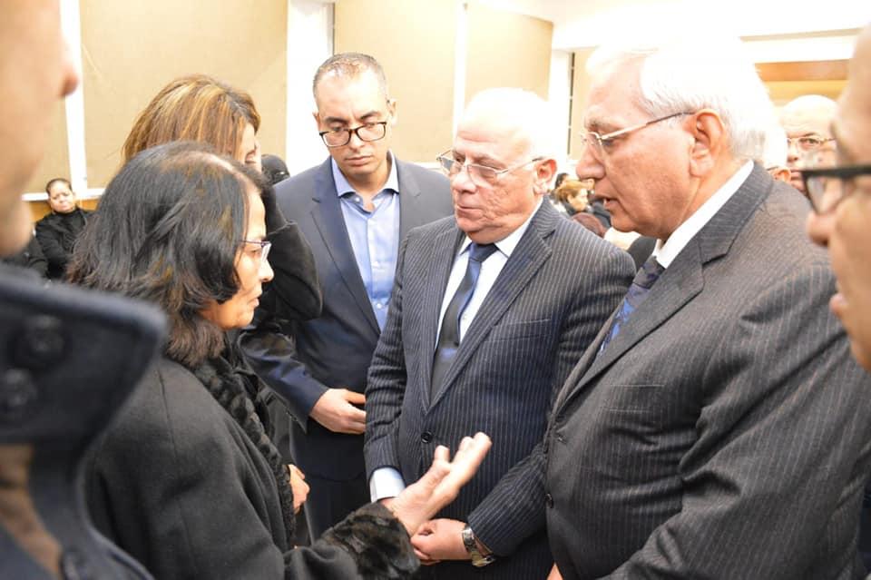 عزاء الراحل الدكتور حلمى قادس راعى الكنيسة الإنجيلية ببورسعيد (2)