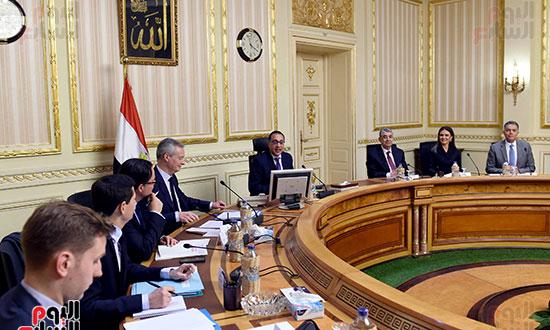 مصطفى مدبولى وبرونو لومير وزير الاقتصاد والمالية الفرنسي (10)