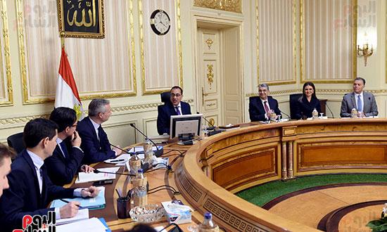 مصطفى مدبولى وبرونو لومير وزير الاقتصاد والمالية الفرنسي (11)