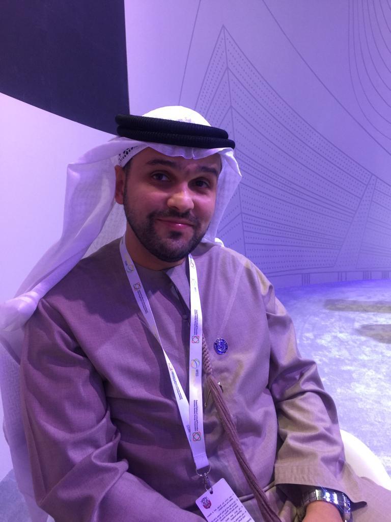 محمد الفردان المدير التنفيذي للمنطقة الحرة بمدينة مصدر