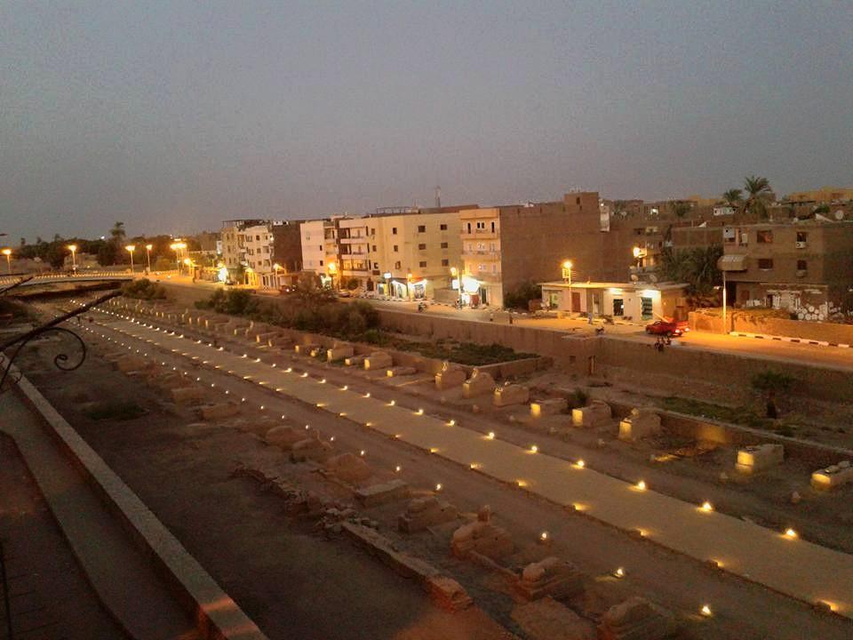 هل يشهد عام 2019 إنتهاء العمل وإفتتاح مشروع طريق الكباش الفرعوني (10)