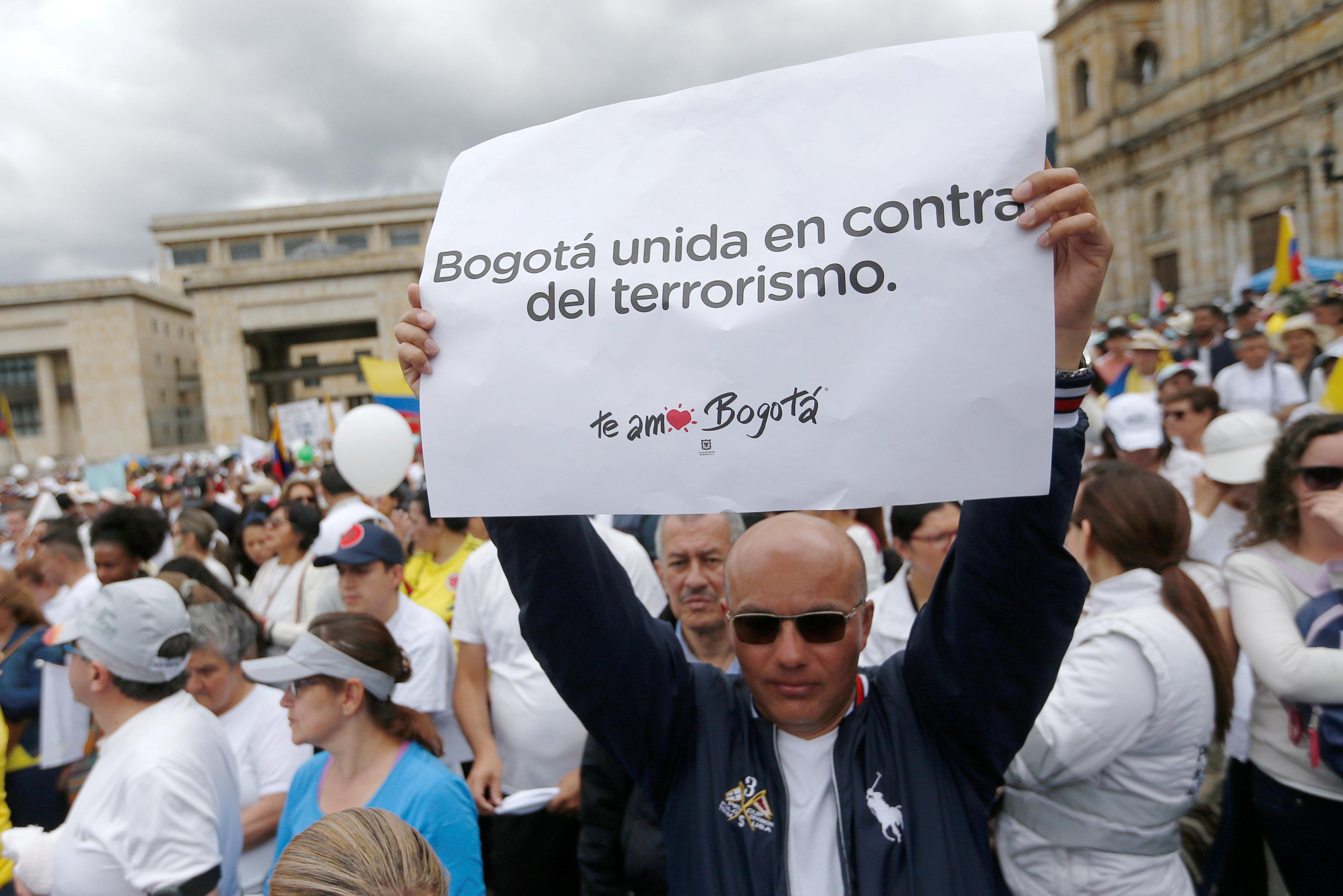 مسيرة ضد العنف فى كولومبيا (3)