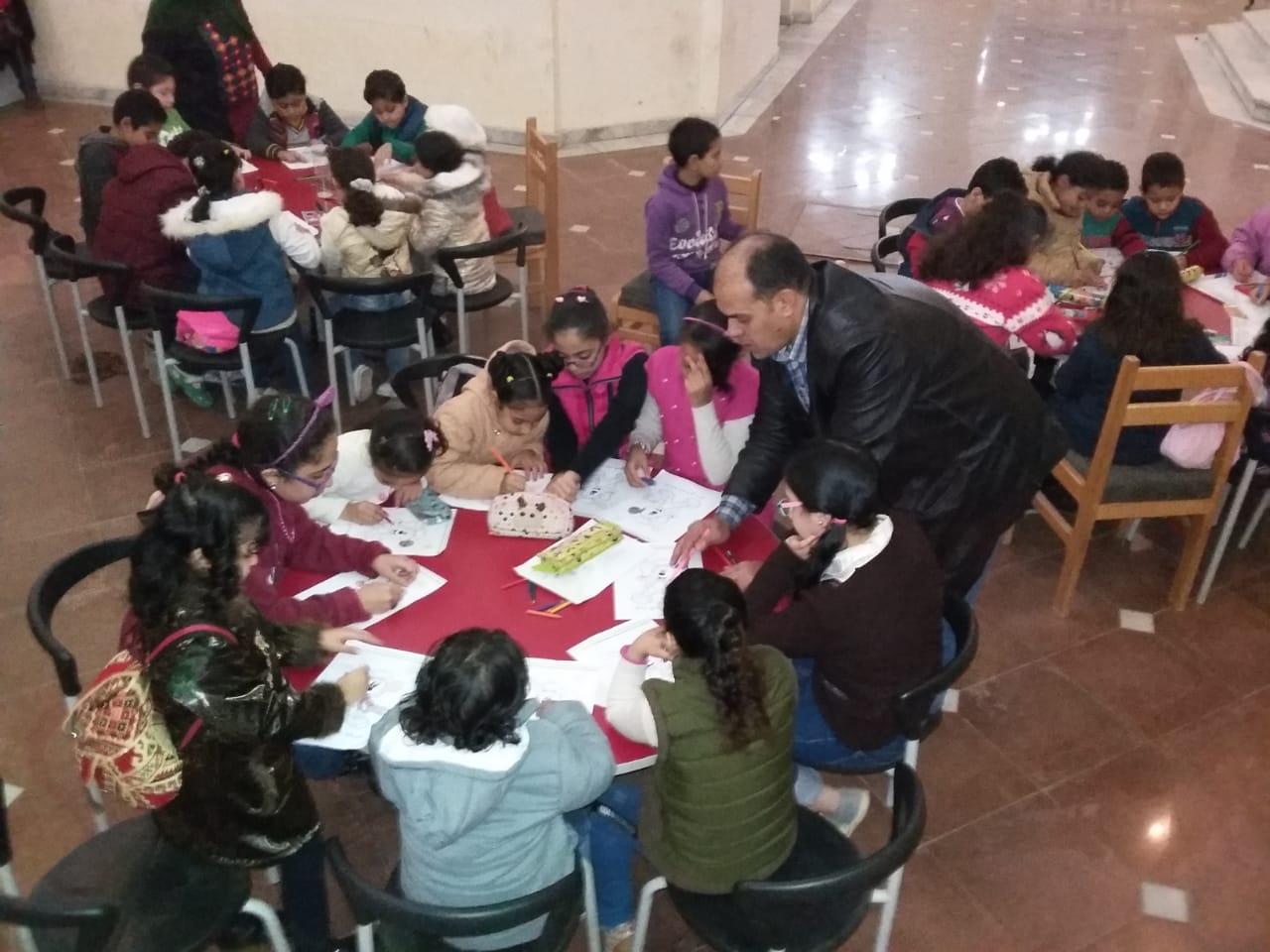 ورشة خط عربى بمركز الإبداع الفنى بدمنهور (13)