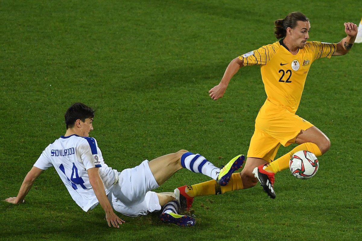 مباراة استراليا واوزبكستان