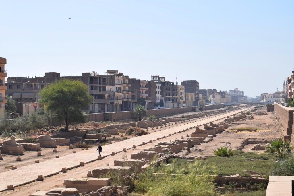 هل يشهد عام 2019 إنتهاء العمل وإفتتاح مشروع طريق الكباش الفرعوني (16)