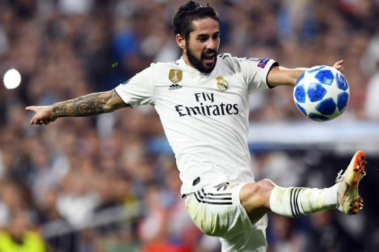 إيسكو نجم وسط ريال مدريد