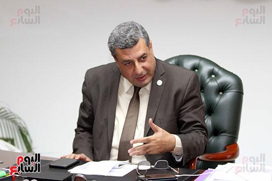 حاتم عبد الغنى، رئيس شركة غاز الأقاليم ريجاس (8)