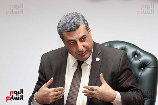 حاتم عبد الغنى، رئيس شركة غاز الأقاليم ريجاس (7)