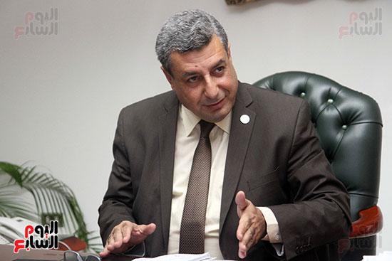 حاتم عبد الغنى، رئيس شركة غاز الأقاليم ريجاس (4)