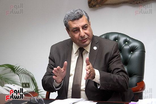 حاتم عبد الغنى، رئيس شركة غاز الأقاليم ريجاس (3)