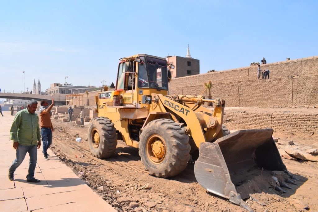 هل يشهد عام 2019 إنتهاء العمل وإفتتاح مشروع طريق الكباش الفرعوني (18)