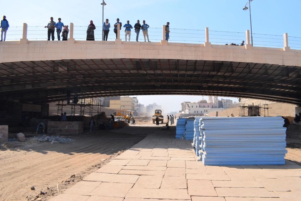 هل يشهد عام 2019 إنتهاء العمل وإفتتاح مشروع طريق الكباش الفرعوني (3)
