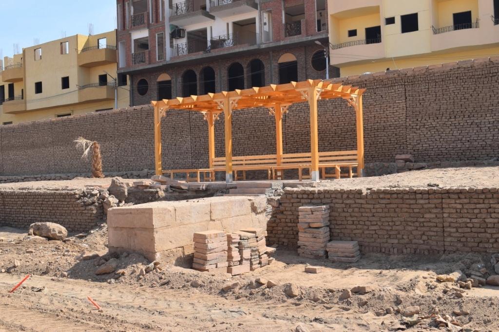 هل يشهد عام 2019 إنتهاء العمل وإفتتاح مشروع طريق الكباش الفرعوني (6)