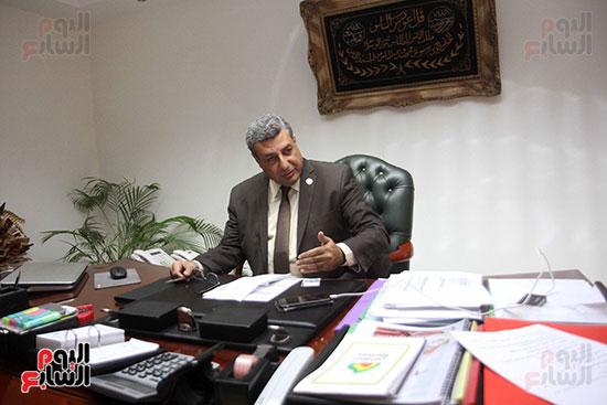 حاتم عبد الغنى، رئيس شركة غاز الأقاليم ريجاس (5)