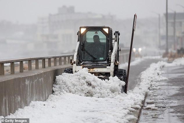 الثلوج تغطى ولاية نيويورك (3)