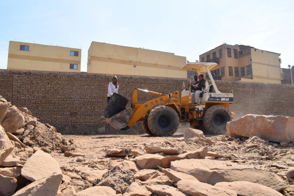 هل يشهد عام 2019 إنتهاء العمل وإفتتاح مشروع طريق الكباش الفرعوني (5)