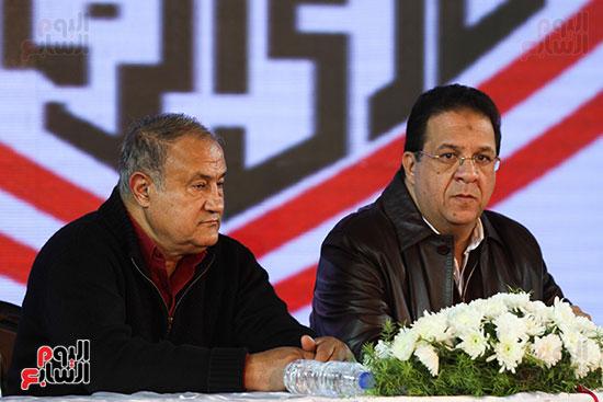 المؤتمر الصحفى الذى عقده مجلس إدارة الزمالك (5)