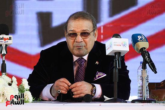 المؤتمر الصحفى الذى عقده مجلس إدارة الزمالك (2)