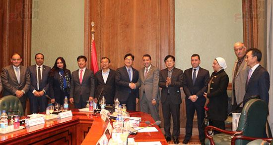 وفد كوريا الجنوبية البرلمانى يعد بزيادة الاستثمارات بمصر (4)