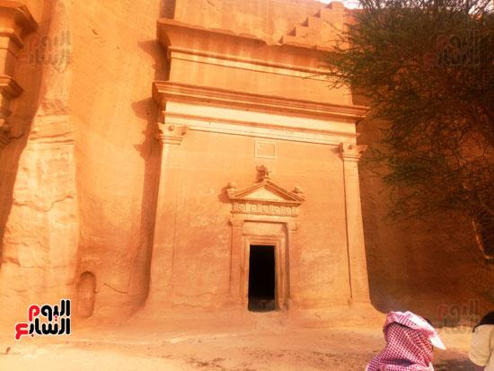 اليوم السابع على أرض مدائن صالح.. حضارة اللحيان والأنباط ترويها المقابر (13)