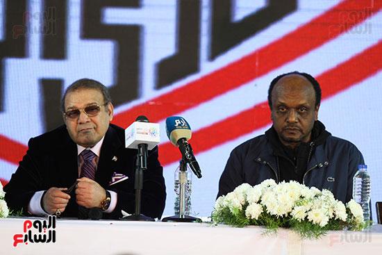 المؤتمر الصحفى الذى عقده مجلس إدارة الزمالك (4)