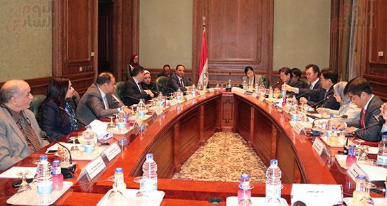 وفد كوريا الجنوبية البرلمانى يعد بزيادة الاستثمارات بمصر (3)