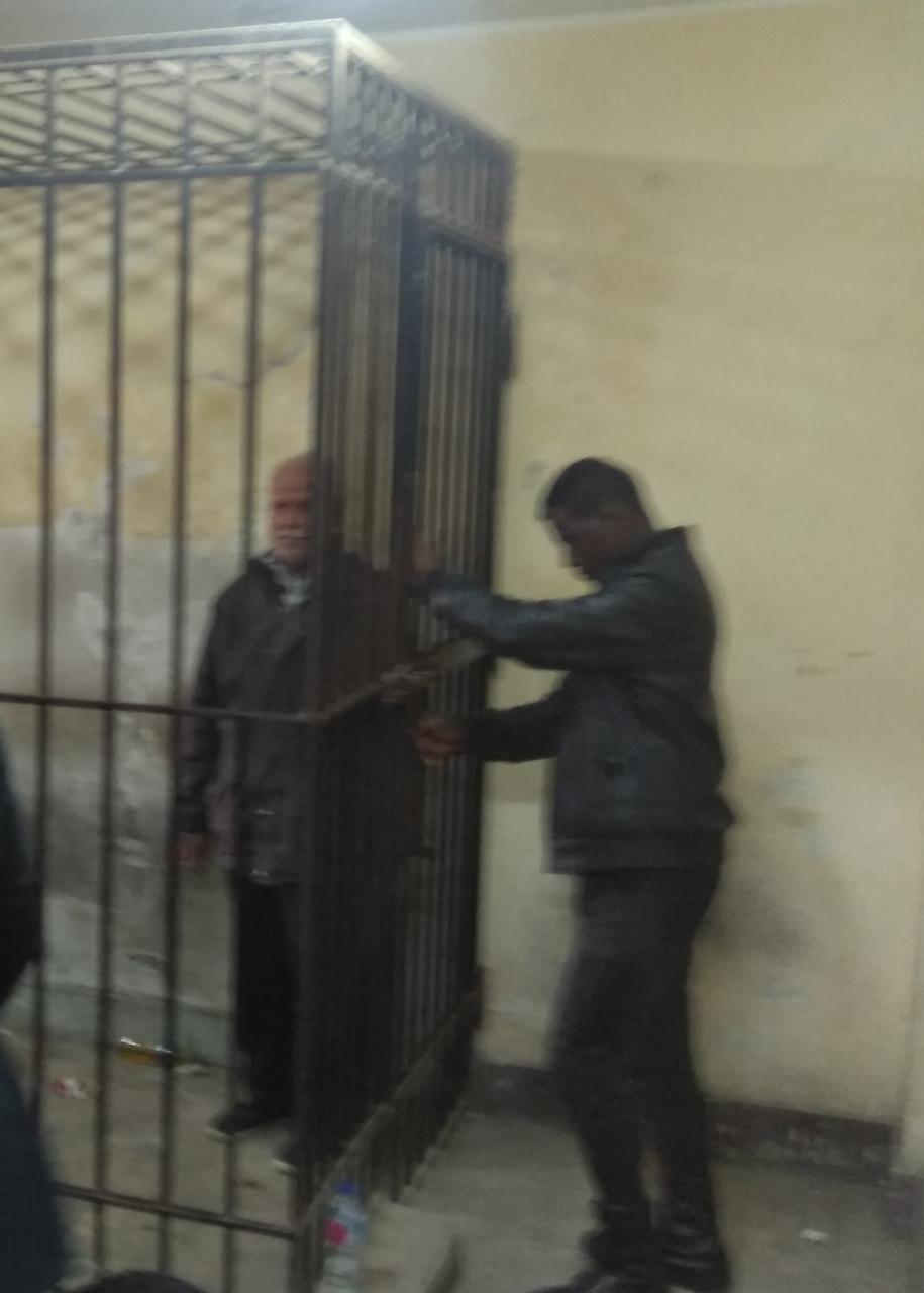 تم ترحيل المتهمين إلى قسم شرطة أكتوبر لقضاء فترة الحبس الاحتياطى