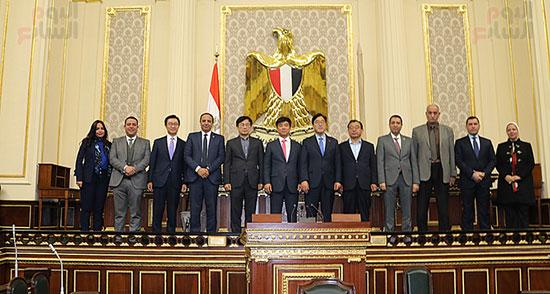 وفد كوريا الجنوبية البرلمانى يعد بزيادة الاستثمارات بمصر (7)