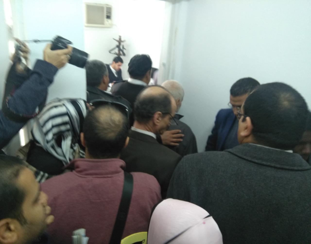 تم تداول الجلسة وسمعت المحكمة لمرافعة دفاع المتهمين والضحية