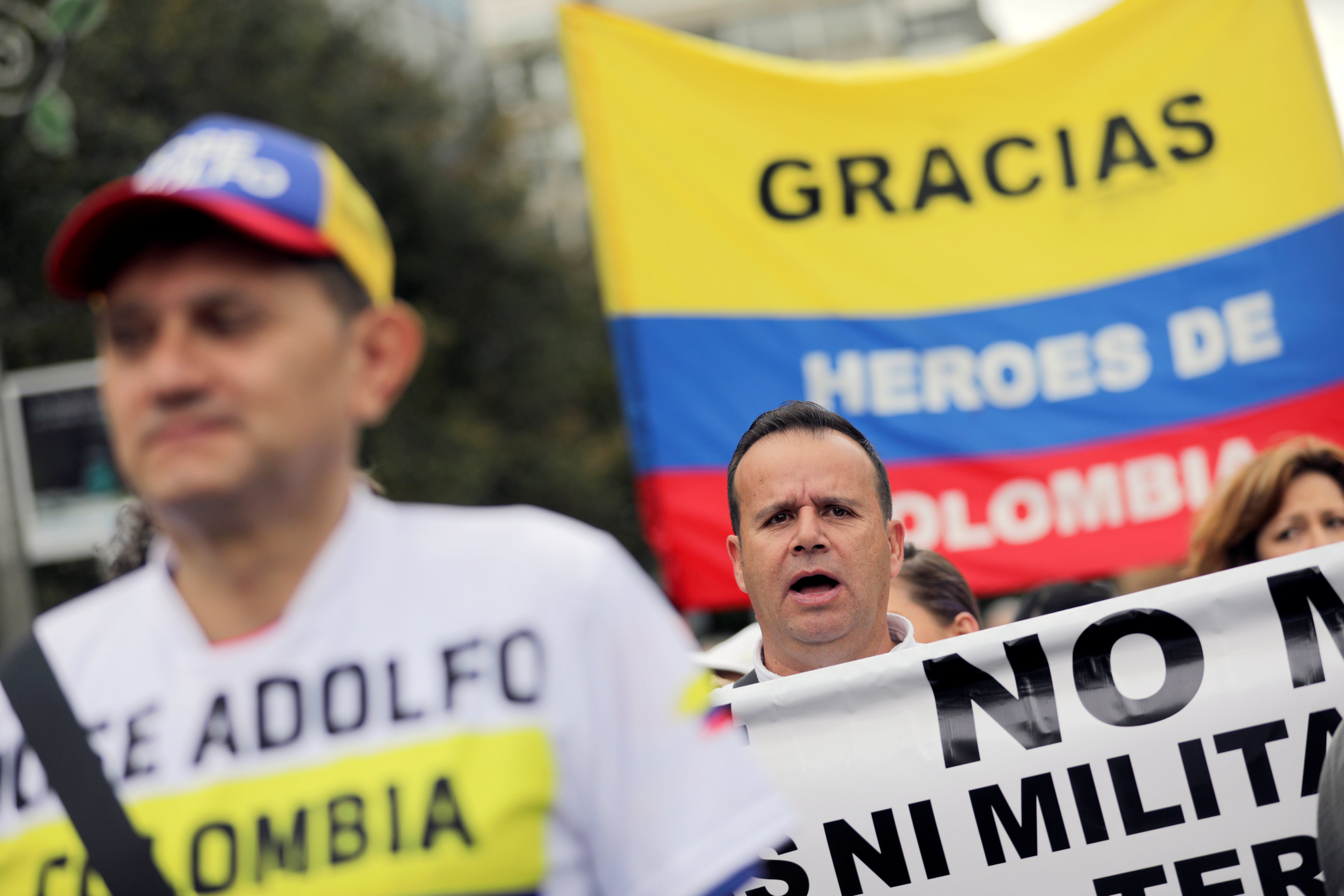 مسيرة ضد العنف فى كولومبيا (9)