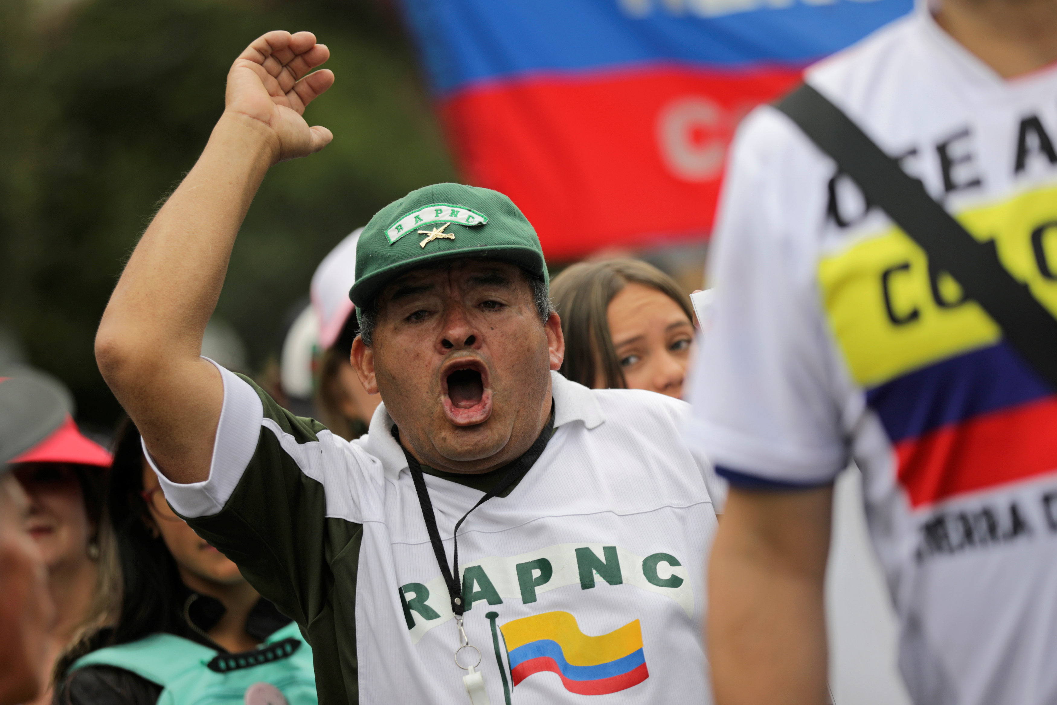 مسيرة ضد العنف فى كولومبيا (1)