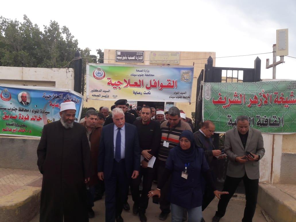 قافلة الأزهر في أبو زنيمة توقع الكشف على ٧٤٨ مريضًا (3)