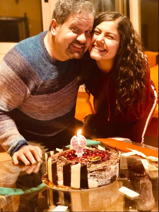 إدوارد يحتفل بعيد ميلاد ابنته