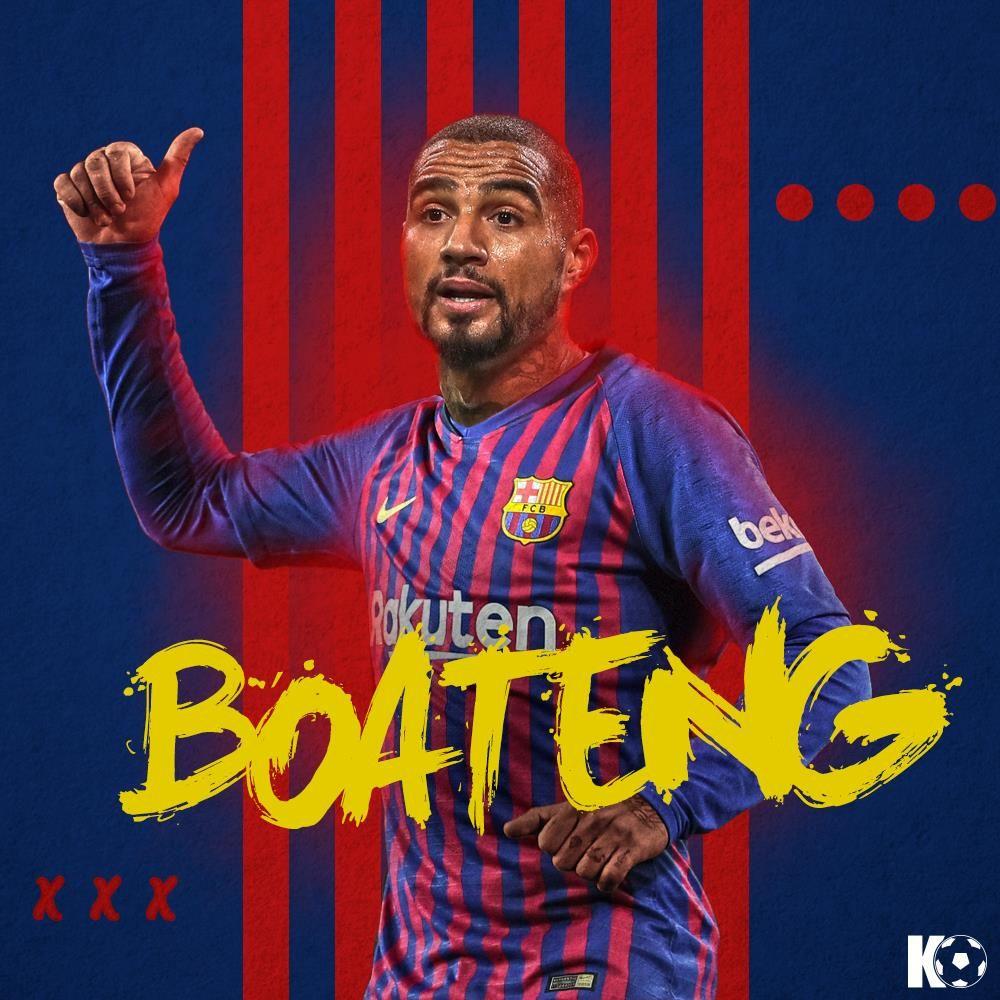 بواتينج لاعب برشلونة الجديد